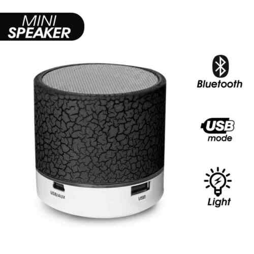 Black✔Music Mini Fashion Bluetooth Speaker Phone Laptop Tablet Support TF Card