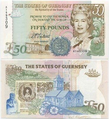 Bailey UNC Banknote England 50 Pounds p-388c 1994 Sign