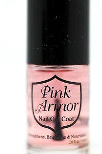 Pink-Armor-Nail-Gel-Coat-Growth-Treatments-0-50-Fluid-Ounce-Repair-Free-Gift