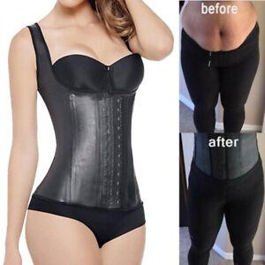 Women-Latex-Vest-Shaper-Waist-Trainer-Corset-Fajas-Colombianas-Reductoras-Belt