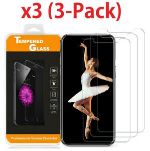 Premium-Screen-Protector-Tempered-Glass-Film-For-iPhone-5-6-7-8-Plus-X-Xs-XR-Max