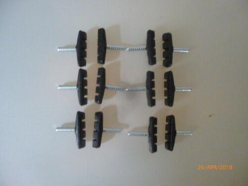 55mm marca Point 12 nuevos zapatas de freno para cantileverbremsen para llantas de aluminio