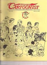 THE AMERICAN CARTOONIST April 1979 NCS fanzine Superman Pogo Spider-Man cover