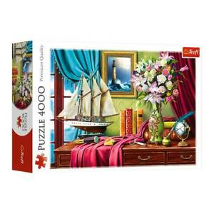 4000 Piece Jigsaw Puzzle TREFL Desk Explorer NEW Gifts What to do at Home