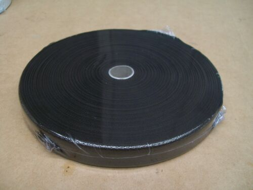 "BINDING TAPE POLYESTER 36mm 112"" Black 100 mtrs"