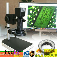 1080p Electronic Digital Microscope Industrial Hd Cmos Camera Video Stand 16mp