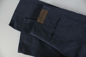 GANT-JEANS-U-S-A-106605-SO5-REGULAR-Men-W35-L32-Linen-Blend-Trousers-JS16116