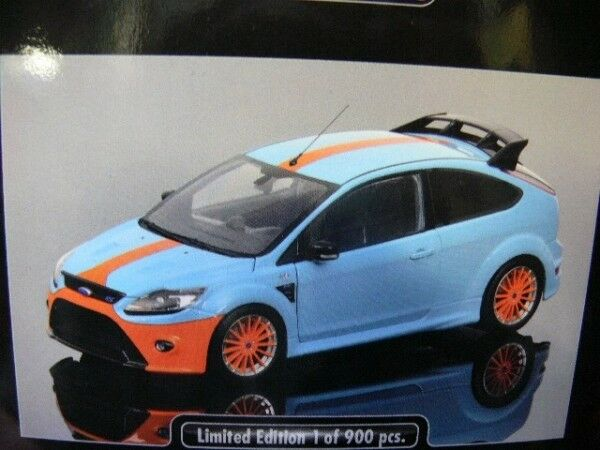 1 18 Minichamps Ford Focus RS 2010 le mans Classic Edition blu 1968 ford gt40 T