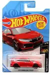 Hot Wheels 2018 Honda Civic Type R 171//250