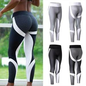 Damen Yogahose Fitness Leggings Push-Up Joggen Fitness Training Training Hosen