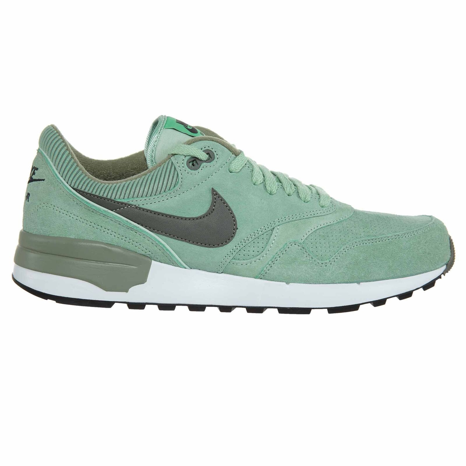 Nike Air Odyssey LTR Mens 684773-301 Enamel Green Suede Running shoes Size 7.5