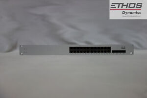 Cisco-Meraki-MS320-24P-24-Port-Gigabit-Switch-unclaimed-dual-A-C