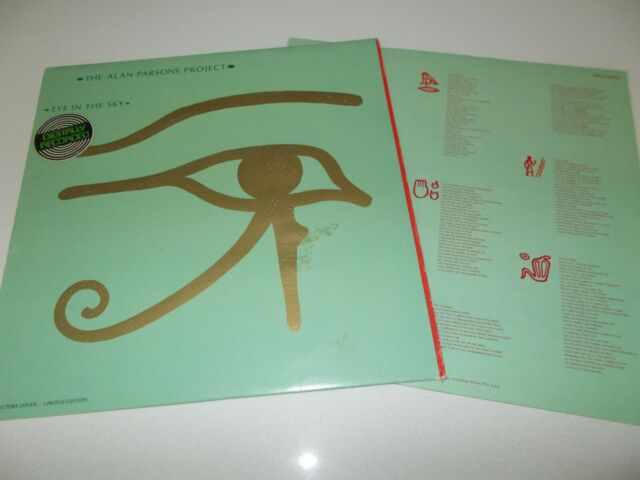 ALAN PARSONS PROJECT - EYE IN THE SKY - OZ 10 TRK VINYL LP - HAND PAINTED COVER