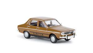 Dacia-1300-lehmbraun-TD-H0-Auto-Modell-1-87-Brekina-14518