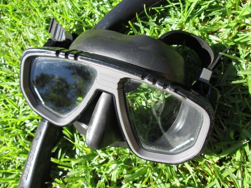 Diving gear / mask and snorkel / scuba / Beuchat Strato
