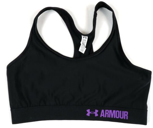 Under Armour Women/'s Mid Sports Bra Compression Racerback Heat Gear Group #2