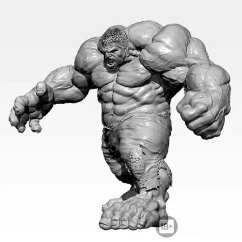 1//24 Resin Figure Model Kit Warrior SuperHero Hulk Unpainted Unassambled