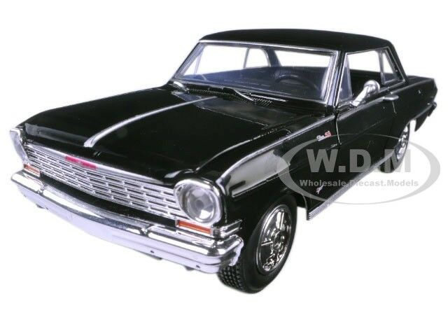 1964 Chevrolet Nova Ss Black Muscle Car Collection 125 Diecast