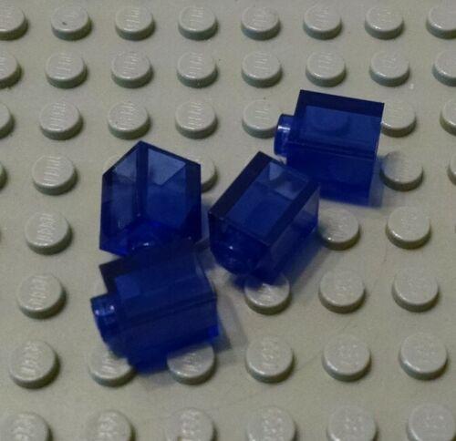 New LEGO Lot of 4 Translucent Purple 1x1 Building Brick Pieces