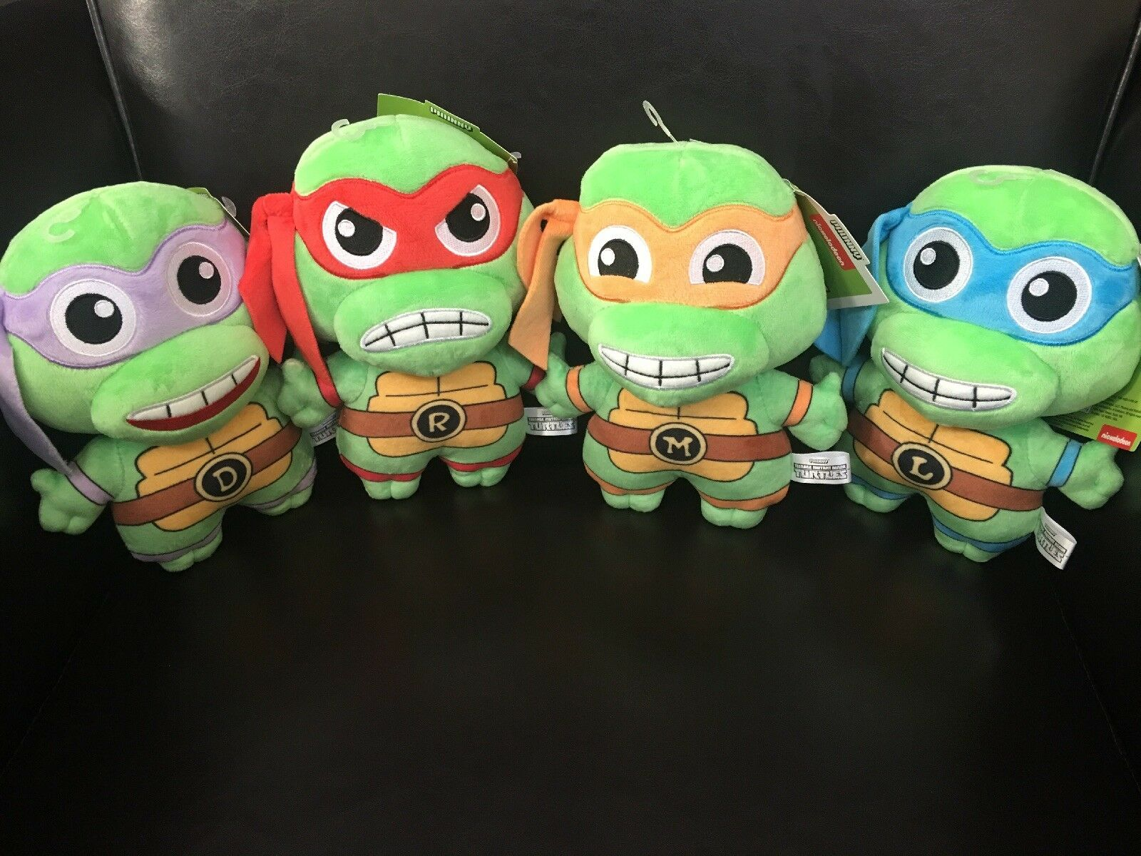 Kidrobot Teenage Mutant Ninja Turtles All 4