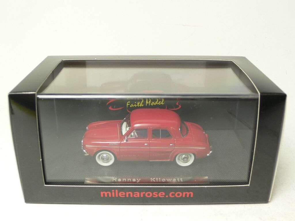 HENNEY KILOWATT MILENA ROSE PARIS FAITH MODEL 1:43