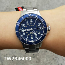 Tw2r36000 Reader Watch Leather Timex Strap Easy Unisex Indiglo 38mm xBedoC