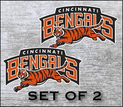 Cincinnati Bengals Vinyl Sticker Decal *SIZES* Cornhole Truck Car Wall Bumper