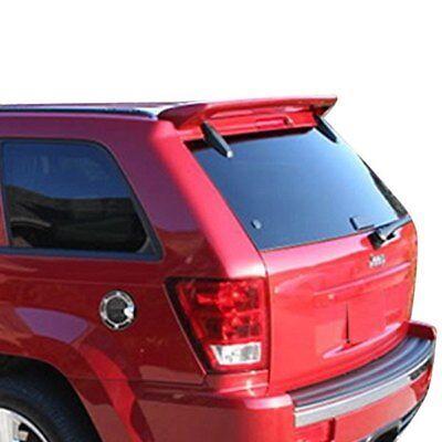 For Jeep Grand Cherokee 05-10 Spoiler Custom Style Fiberglass Rear Roof Spoiler