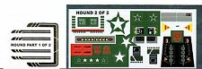 TRANSFORMERS GENERATION 1, G1 AUTOBOT HOUND REPRO LABELS / STICKERS