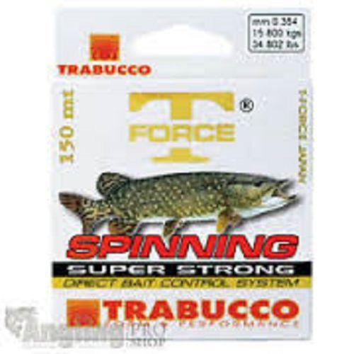 Trabucco T-Force Hecht Spin Bereit For The Season Specimen Line 150m