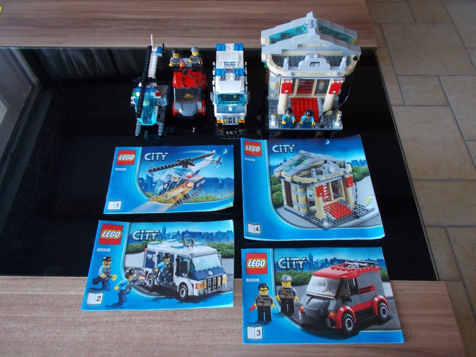 Lego® City - 60008 - Einbruch ins Museum   Museums-Raub - mit Bauanleitung (BA)