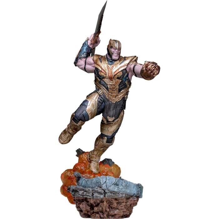 AVENGERS 4: Endgame - Thanos Deluxe 1/10th Scale Statue (Iron Studios) #NEW on eBay thumbnail