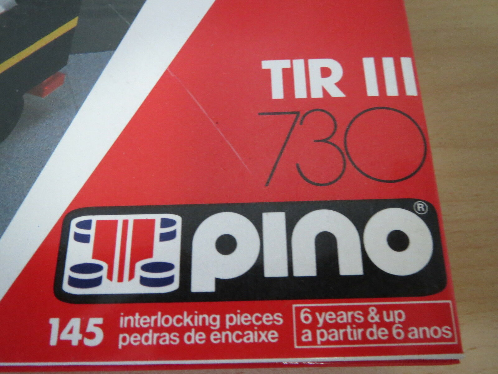 Vintage Portuguese LEGO PINO 730 - TIR 730 PINO - CASTROL OIL - Made in Azores (Portugal) a9540f