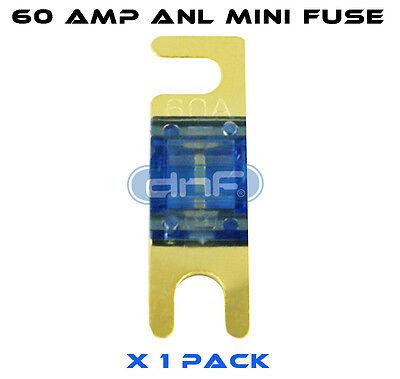 3 PCS ANL MINI FUSE 60 AMP FREE SAME DAY SHIPPING! DNF