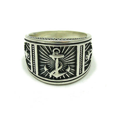 925 Silber Herren Ring Anker R001594 Empress Elegante Form
