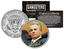 JOHN GOTTI New York Mob * Gangster Series * JFK Kennedy Half Dollar U.S. Coin