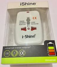 Portable ALL 4in One Universal International Travel Adapter Plug USB UK EU AU US