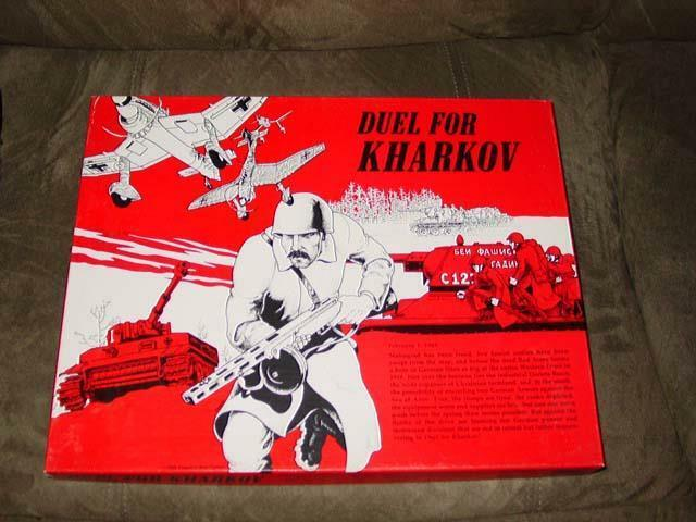 People's War Games 1985 (GAMA) - DUEL FOR KHARKOV (UNPUNCHED)  NEW