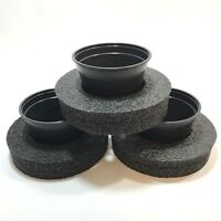 9 Diameter Floating Pond Planters/islands, 3-pack - Value Pack For Water Plants