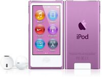 Apple Ipod Nano 7th Gen (16gb) Purple In Box Sealed