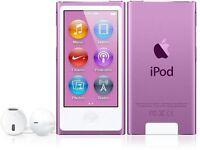 Apple Ipod Nano 7th Gen (16gb) Purple In Box Sealed