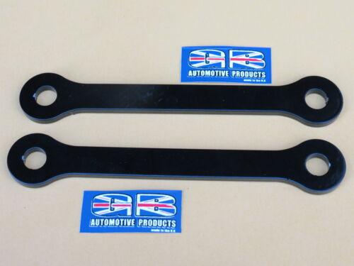 Dog Bone links in black powder Coat 25mm Lowering kit Kawasaki  ZX6R B1-B2