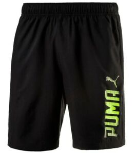 a5a308fad83 New Mens PUMA Logo Shorts Casual Swim Swimming Beach Summer Holiday ...