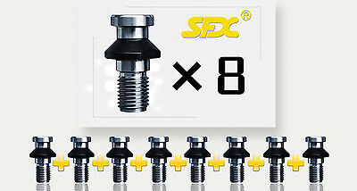 5Pcs DIN69872 Pull Studs SK40 M16 Retention Knobs For DIN69871 Holder Coolant