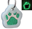 Glitter-Paw-Print-Pet-ID-Tags-Custom-Engraved-Dog-Cat-Tag-Personalized thumbnail 27