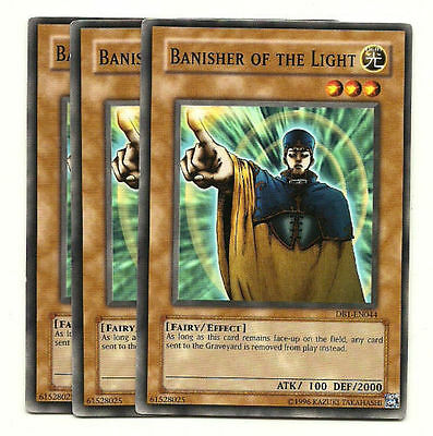 Mint Near Mint Condition YUGIOH Card Banisher Of The Light