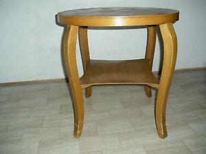 Original 50er jahre runder wohnzimmer beistell tisch for Runder tisch wohnzimmer