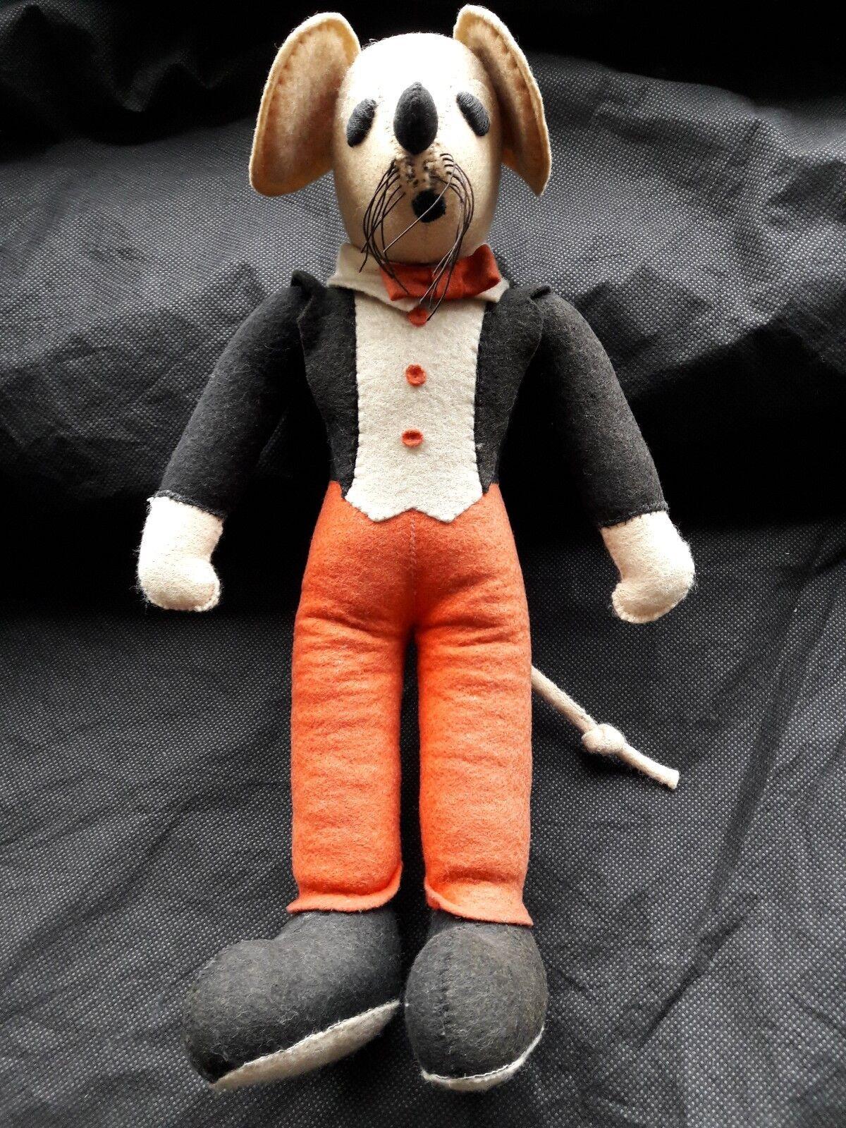 Teddy Teddy Teddy Tails rare vintage soft toy figure circa 1920's 7a306a