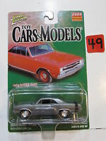 Johnny Lightning 2005 Limited Edition Toy Cars & Models - 1969 Dodge Dart - Raw