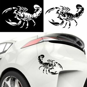 Details about 1 PC Cute 3D Scorpion Car Sticker Vinyl Decal Stickers for  Cars Accessories